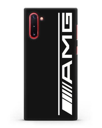 Чехол с логотипом AMG силикон черный для Samsung Galaxy Note 10 [N970F]