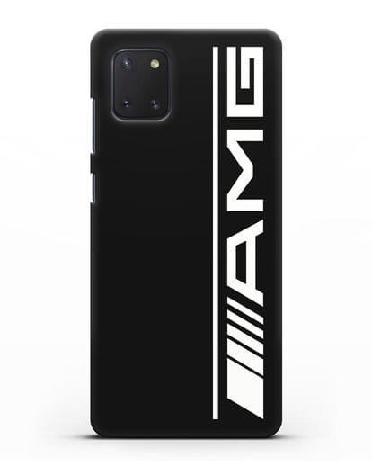 Чехол с логотипом AMG силикон черный для Samsung Galaxy Note 10 Lite [N770F]