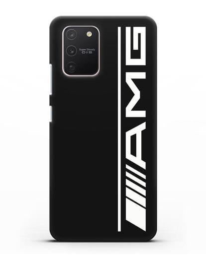 Чехол с логотипом AMG силикон черный для Samsung Galaxy S10 lite [SM-G770F]