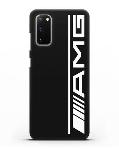 Чехол с логотипом AMG силикон черный для Samsung Galaxy S20 [SM-G980F]