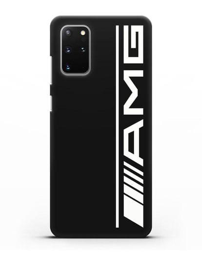 Чехол с логотипом AMG силикон черный для Samsung Galaxy S20 Plus [SM-G985F]