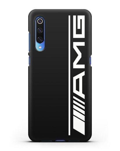 Чехол с логотипом AMG силикон черный для Xiaomi Mi 9