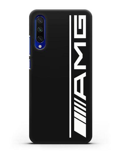 Чехол с логотипом AMG силикон черный для Xiaomi Mi A3