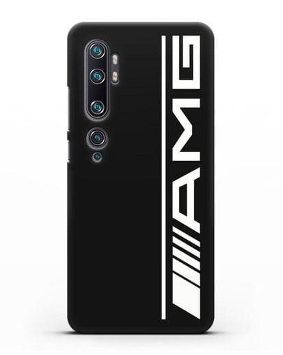 Чехол с логотипом AMG силикон черный для Xiaomi Mi Note 10