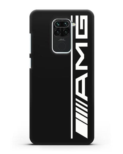 Чехол с логотипом AMG силикон черный для Xiaomi Redmi 10X