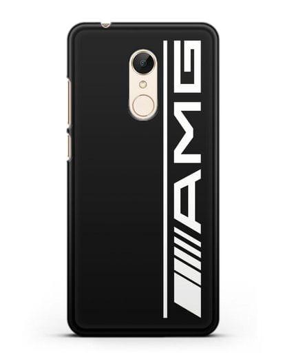 Чехол с логотипом AMG силикон черный для Xiaomi Redmi 5