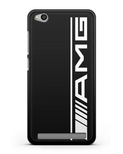 Чехол с логотипом AMG силикон черный для Xiaomi Redmi 5A