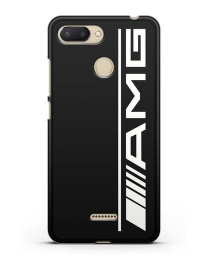 Чехол с логотипом AMG силикон черный для Xiaomi Redmi 6