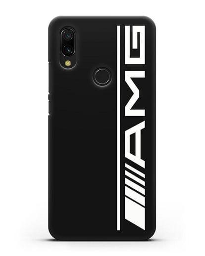 Чехол с логотипом AMG силикон черный для Xiaomi Redmi 7