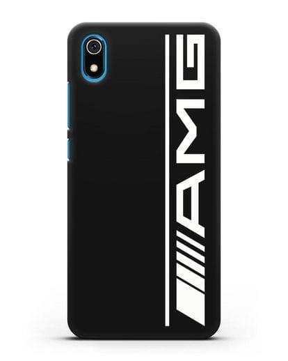 Чехол с логотипом AMG силикон черный для Xiaomi Redmi 7A