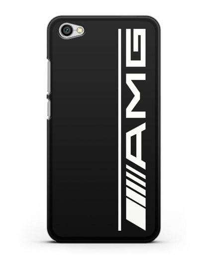 Чехол с логотипом AMG силикон черный для Xiaomi Redmi Note 5A