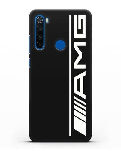 Чехол с логотипом AMG силикон черный для Xiaomi Redmi Note 8T