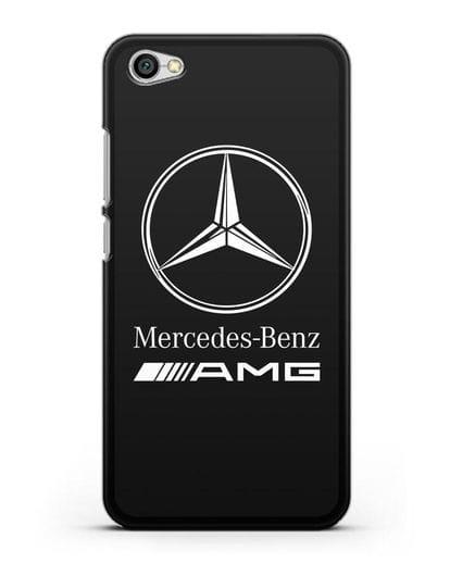 Чехол с логотипом Mercedes Benz AMG силикон черный для Xiaomi Redmi Note 5A