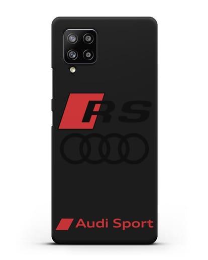 Чехол с логотипом Audi RS Sport силикон черный для Samsung Galaxy A42 [SM-A426B]
