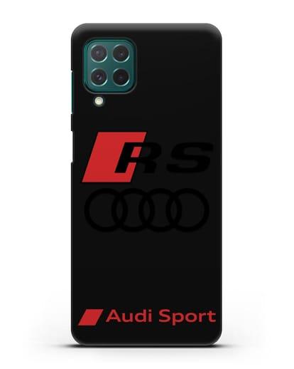 Чехол с логотипом Audi RS Sport силикон черный для Samsung Galaxy M62 [SM-M625F]