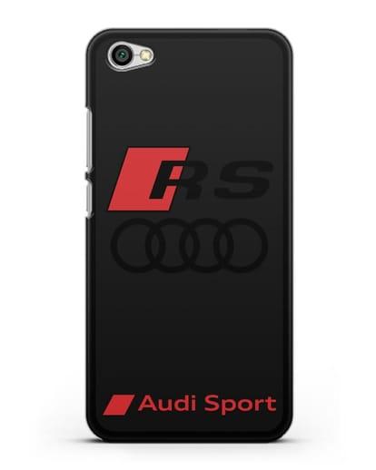 Чехол с логотипом Audi RS Sport силикон черный для Xiaomi Redmi Note 5A