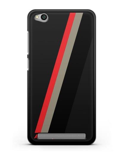 Чехол с логотипом Ауди Спорт силикон черный для Xiaomi Redmi 5A