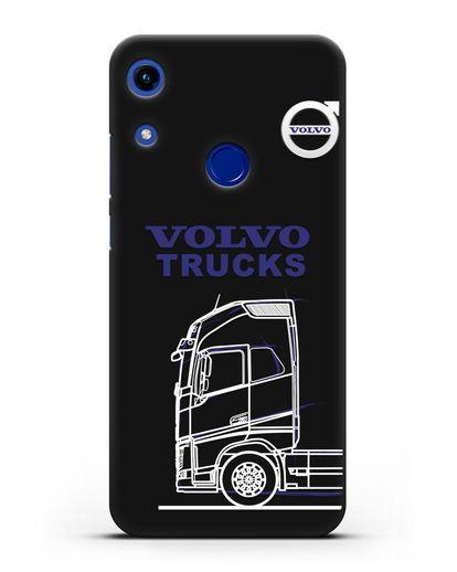 Чехол с изображением Volvo Trucks силикон черный для Honor 8A
