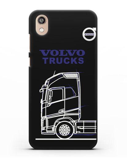 Чехол с изображением Volvo Trucks силикон черный для Honor 8S