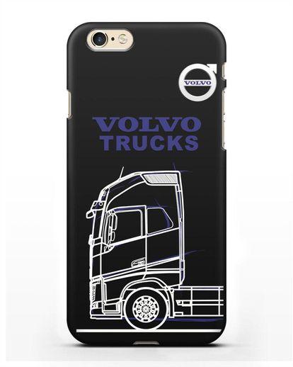 Чехол с изображением Volvo Trucks силикон черный для iPhone 6