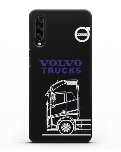 Чехол с изображением Volvo Trucks силикон черный для Samsung Galaxy A50s [SM-F507FN]