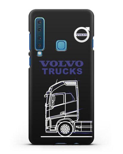 Чехол с изображением Volvo Trucks силикон черный для Samsung Galaxy A9 (2018) [SM-A920]