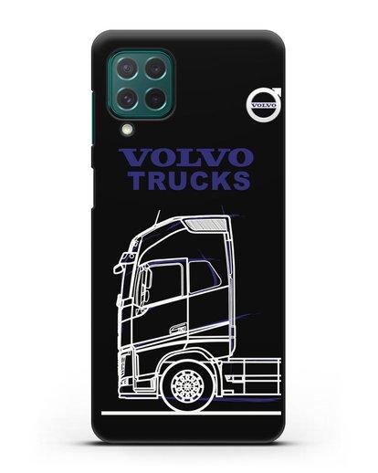 Чехол с изображением Volvo Trucks силикон черный для Samsung Galaxy M62 [SM-M625F]