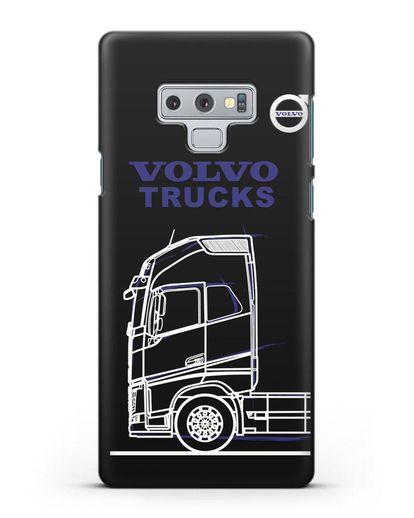 Чехол с изображением Volvo Trucks силикон черный для Samsung Galaxy Note 9 [N960F]