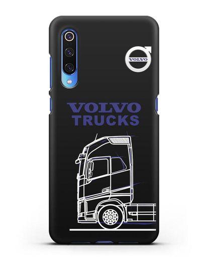 Чехол с изображением Volvo Trucks силикон черный для Xiaomi Mi 9