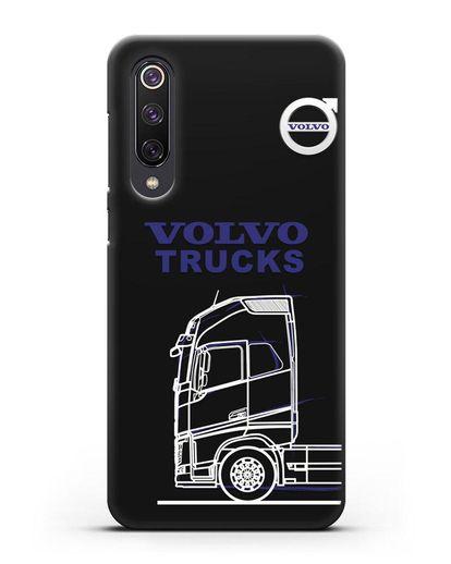Чехол с изображением Volvo Trucks силикон черный для Xiaomi Mi 9 SE