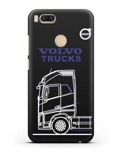 Чехол с изображением Volvo Trucks силикон черный для Xiaomi Mi A1