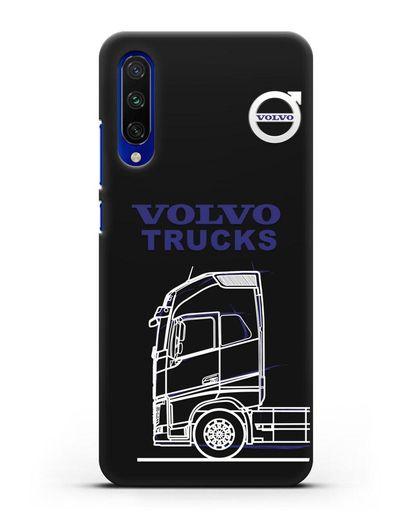 Чехол с изображением Volvo Trucks силикон черный для Xiaomi Mi A3