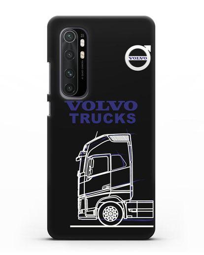 Чехол с изображением Volvo Trucks силикон черный для Xiaomi Mi Note 10 lite