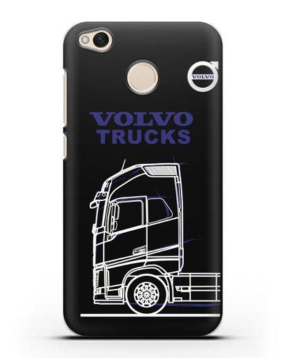 Чехол с изображением Volvo Trucks силикон черный для Xiaomi Redmi 4X