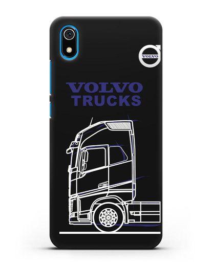 Чехол с изображением Volvo Trucks силикон черный для Xiaomi Redmi 7A