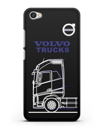 Чехол с изображением Volvo Trucks силикон черный для Xiaomi Redmi Note 5A